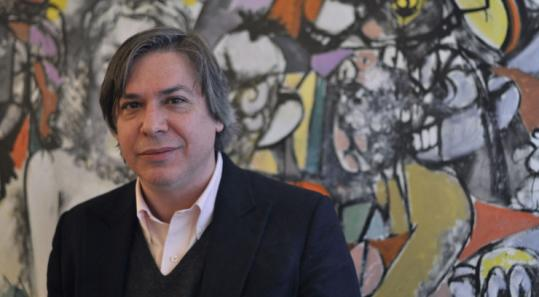 The artwork of George Condo, who grew up in Chelmsford, is the subject of a new exhibit at the New Museum in Manhattan.