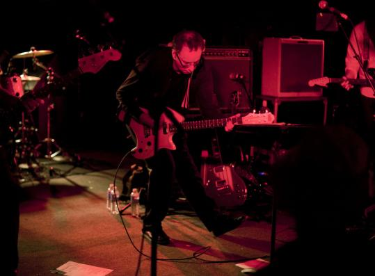 Singer-guitarist Colin Newman and Wire played the Middle East Downstairs on Sunday.