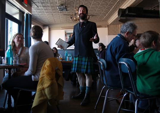 The Haven's Jason Waddleton hopes Groupon draws attention to his adding lunch at his Scottish restaurant.