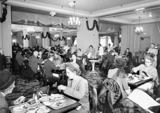 The L.S. Ayres Tea Room thrived on 20th-century downtown shoppers