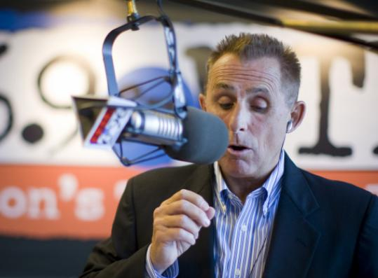 WTKK-FM radio talk show host Jay Severin was paid close to $1 million per year.