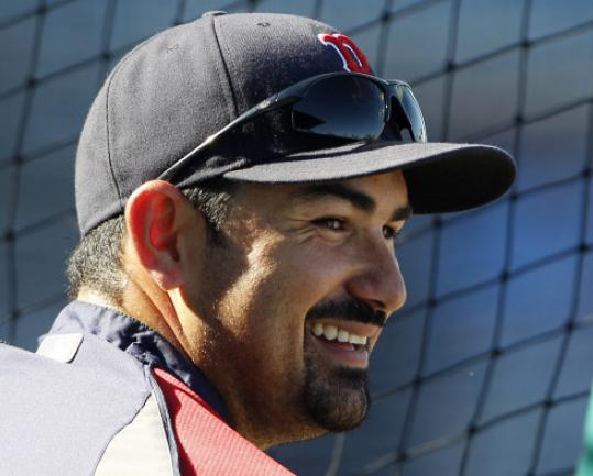 Lefthanded-hitting Adrian Gonzalez is perfectly suited for Fenway Park.
