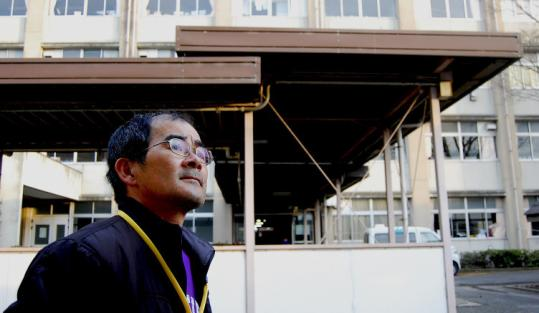 """What are you saying? Don't you know a tsunami is coming?"" said Masayuki Ishizawa, talking about what he shouted at a guard while trying to flee the Fukushima Daiichi nuclear plant, where he worked."