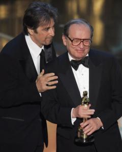Sidney Lumet received an honorary Oscar, presented by Al Pacino, from the Academy of Motion Picture Arts and Sciences.