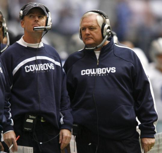 To get the most out of a team that underachieved last season, Dallas coach Jason Garrett (left) will need to incorporate more discipline than the man he replaced, Wade Phillips (right).