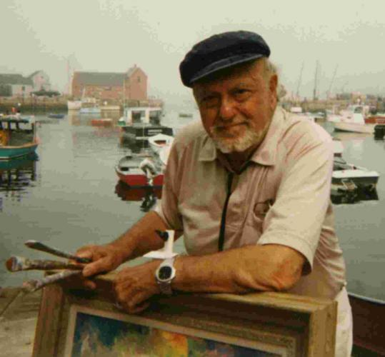 American impressionist Harold Rotenberg spent many summers in Rockport.