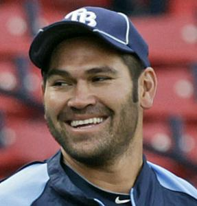 Johnny Damon homered in his return to Fenway last night.