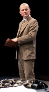 "Allyn Burrows plays British mathematician Alan Turing in Hugh Whitemore's ""Breaking the Code.''"