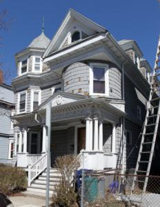 Wells Fargo was fined over violations at this foreclosed property in Dorchester.