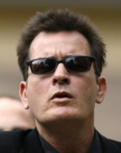 Charlie Sheen was smokin' during his radio appearance.