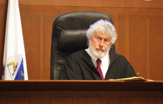 Judge Raymond G. Dougan Jr. at Brooke Courthouse.