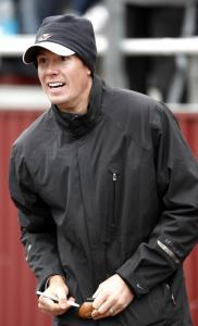 Former BC star Matt Ryan was a surprise visitor at the McGillis game.