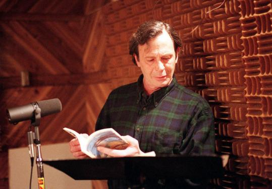 Paul Violi was a poetic reporter and a parodist, always alert for the telling encounter. He read poetry at a radio station in 1999.
