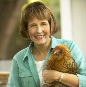 "Author of ""Chicken and Egg,'' Janice Cole cooks the eggs from her own backyard birds."