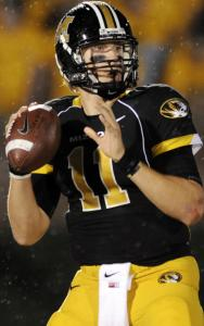 Blaine Gabbert did well running Missouri's spread offense, but can he succeed taking snaps under center in the NFL?