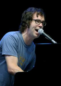 At the Rethink Music conference, an all-star group consisting of (clockwise from top left) Ben Folds, Amanda Palmer, Damian Kulash, and Neil Gaiman will write, record, and release eight songs over eight hours.