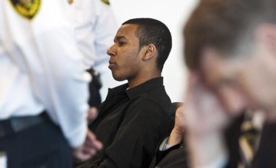 Above: Justin Cosby. Left: Jabral Jordan Copney, was sentenced to life in prison for Cosby's murder.
