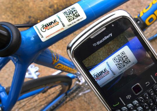 Kryptonite is rolling out a new antitheft service that uses bar codes and smartphones to track bicycles.