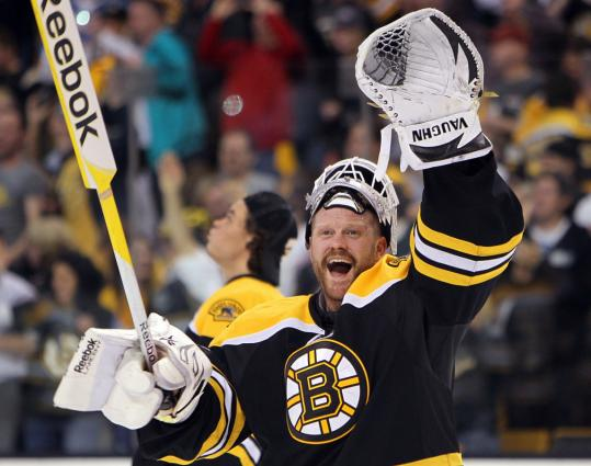Tim Thomas backstopped the Bruins past Montreal, and now comes a rematch with the Flyers.