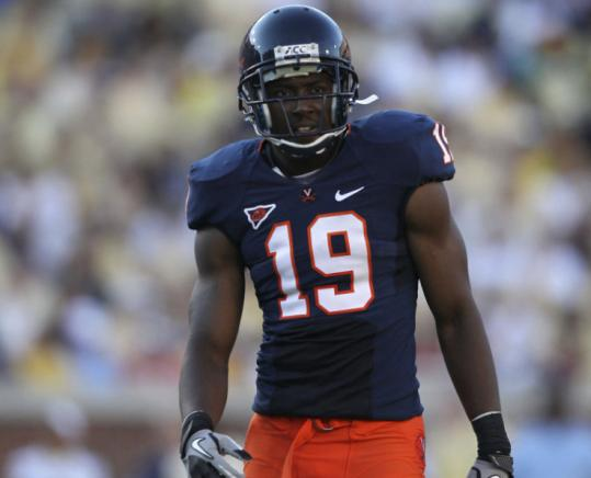 Virginia cornerback Ras-I Dowling was limited to five games as a senior because of leg and ankle injuries.