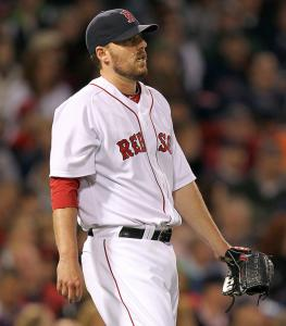 John Lackey took the loss for the Sox after giving up two runs on seven hits over six innings.