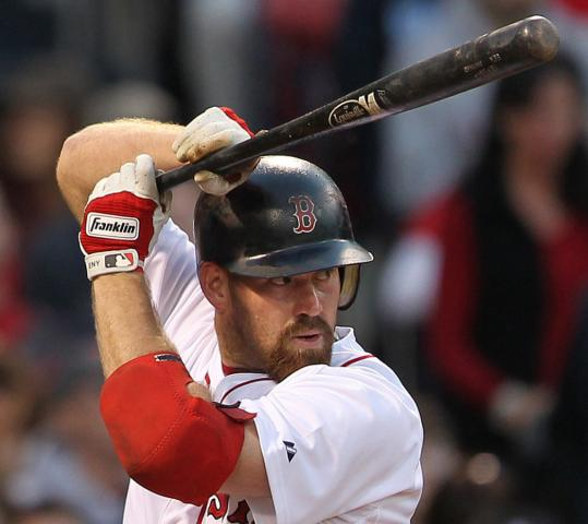 Kevin Youkilis, who tweaked his left hip in the seventh inning, may not play today.