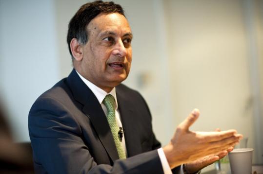 Husain Haqqani, Pakistan's ambassador to the United States, is also a BU associate professor of international relations.