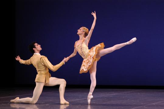 "BALANCHINE/ROBBINS Boston Ballet honors two of the greatest ballet choreographers of the past century. The program pairs Balanchine's ""Divertimento No. 15'' (Mozart) and ""Symphony in Three Movements'' (Stravinsky) with Robbins's ""Afternoon of a Faun'' and ""Antique Epigraphs,'' both to music by Debussy. May 12-22.$25-$137 ($20 student rush). Boston Opera House. 617-695-6955, www.bostonballet.org"