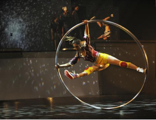 "Cirque Éloize's ""iD'' is set in a futuristic urban environment and features some electrifying performances."