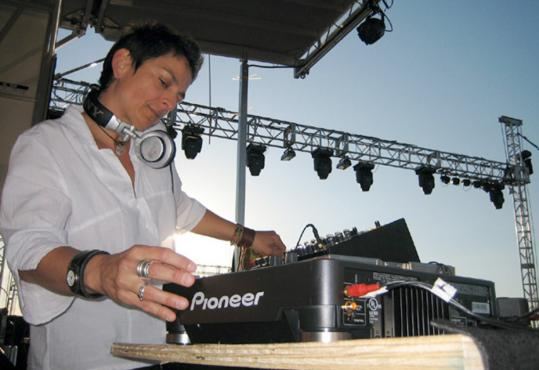 Disc jockey Kris Kono, a physical therapist by day, provided music for dozens of fund-raisers.