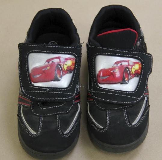 Maine State Police released a photo yesterday of the distinctive sneakers worn by the dead boy found Saturday.