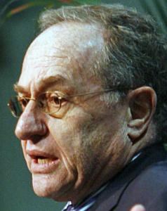 Obama hit the right points when he called upon Arab leaders to work with democracy advocates, said Alan Dershowitz.