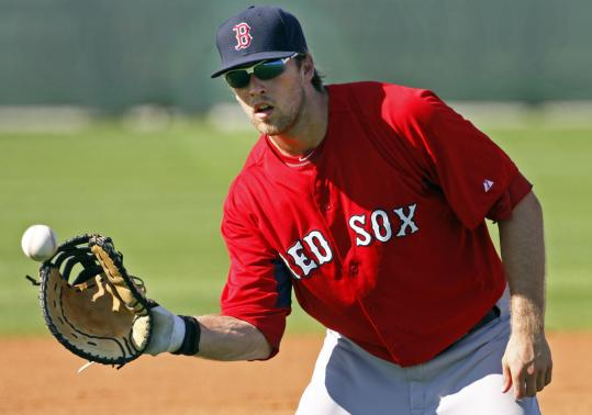 With an expensive roadblock in Boston, Lars Anderson is catching attention in Pawtucket.