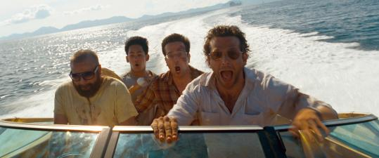 "Bradley Cooper (right, with Zach Galifianakis, Mason Lee, and Ed Helms in ""Hangover II'') says of Phil, his character in the ""Hangover'' movies: ""I'm not as cool as he is.''"