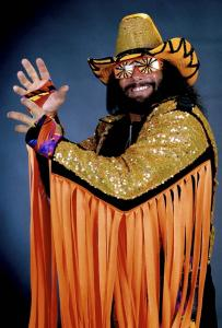 "Randy ""Macho Man'' Savage, whose legal name was Randy Mario Poffo, was one of the most popular wrestlers in the World Wrestling Federation in the 1980s and '90s."