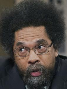 Cornel West says he spoke out for the poor.