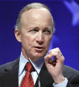 GOP leaders had urged Mitch Daniels to run for president.