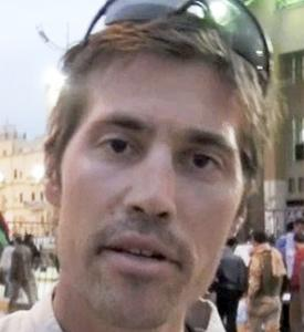 IN THEIR THOUGHTS James Foley (left) and Clare Morgana Gillis said South African Anton Hammerl was fatally shot by forces loyal to Libyan dictator Moammar Khadafy.