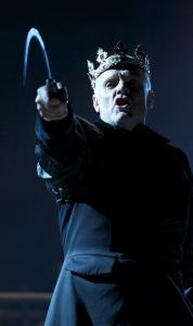 "Richard Clothier is the title character in the Propeller Theatre Company's ""Richard III.''"