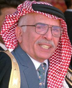 Ex-CIA agent Jack O'Connell assisted King Hussein of Jordan (pictured) for three decades.