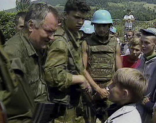 Ratko Mladic handed out candy in Srebrenica and assured children that everything would be fine, hours before ordering his troops to kill thousands of men and boys.