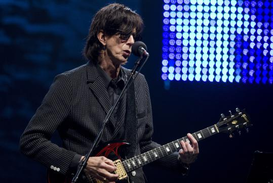 Ric Ocasek sang some of the songs performed by the late bassist Ben Orr.