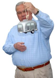 Thomas Menino was given a trailer-shaped