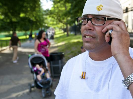 """Eddie Mello of Boston said he'll wait for the """"surgeon's general warning.''"""
