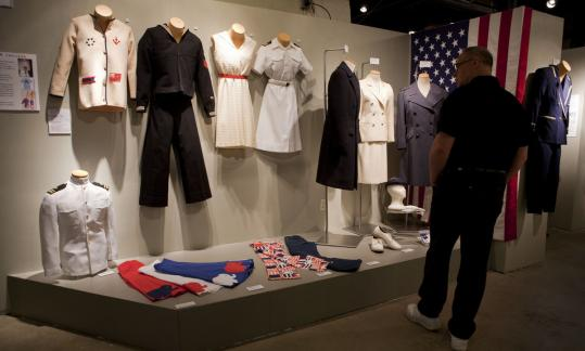 """Frontline Fashion'' is a new exhibit at the Charles River Museum of Industry & Innovation."