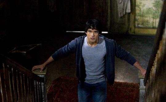 "Tyler Posey plays a high school student who becomes a werewolf in the new MTV series ""Teen Wolf.''"