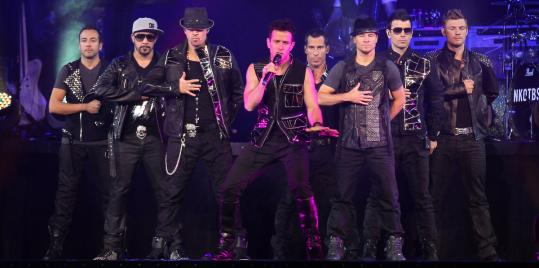 The New Kids on the Block and Backstreet Boys performed earlier this week at Mohegan Sun Casino in Uncasville, Conn.