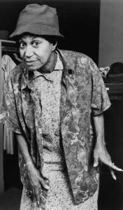 "Clarice Taylor portrayed vaudeville star Jackie ""Moms'' Mabley in 1987."