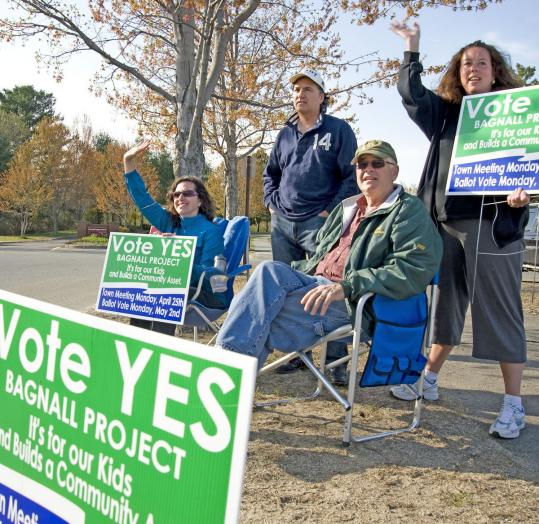 Groveland voters split on two requests for tax increases.
