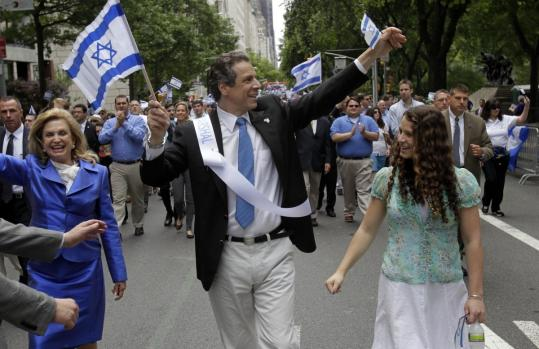 Governor Andrew Cuomo of New York marched yesterday in the Celebrate Israel Parade, which first took place in 1964.